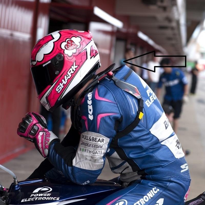 368dd96f8f7 Krční chránič na silniční moto Leatt STX RR Neck Brace Carbon ...