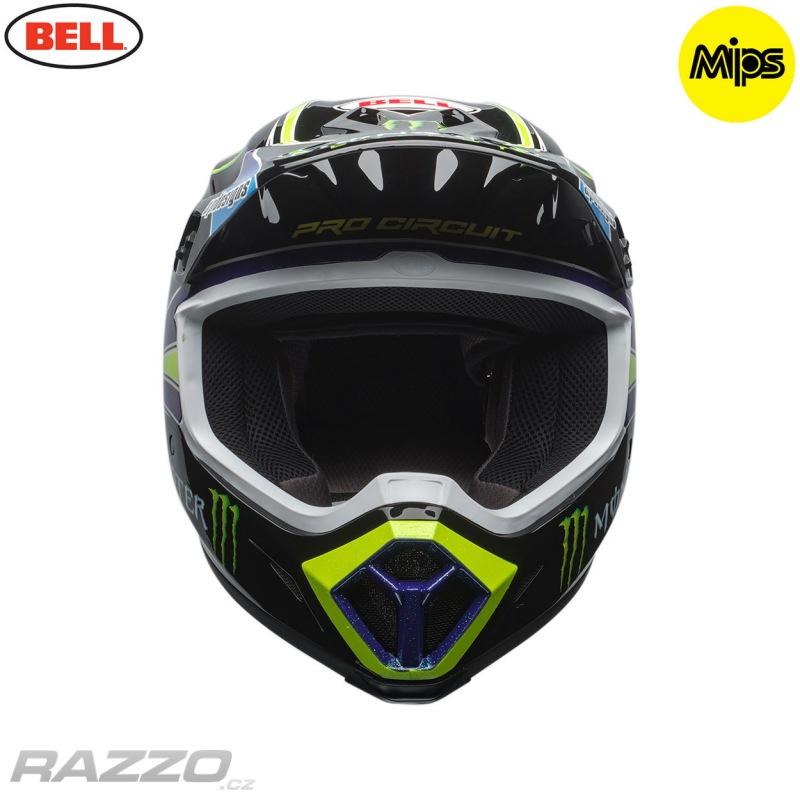 MX helma BELL MX-9 MIPS Pro Circuit Replica Green 2018 - helmy MX ... 7edcca9486