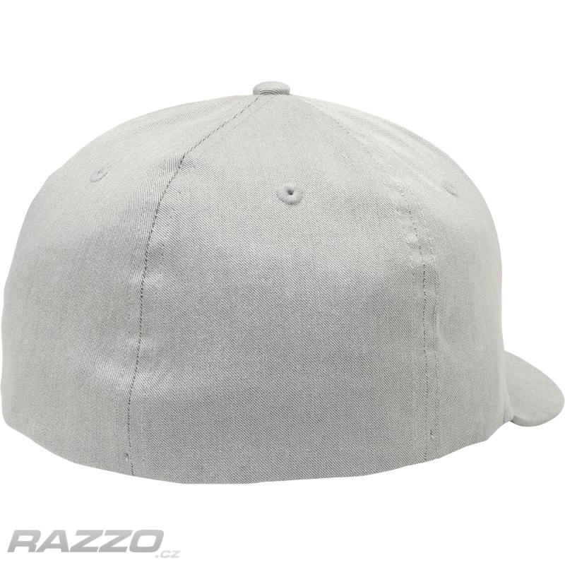Pánská čepice FOX Clouded Flexfit Hat Grey - čepice  b7d40f0cf9