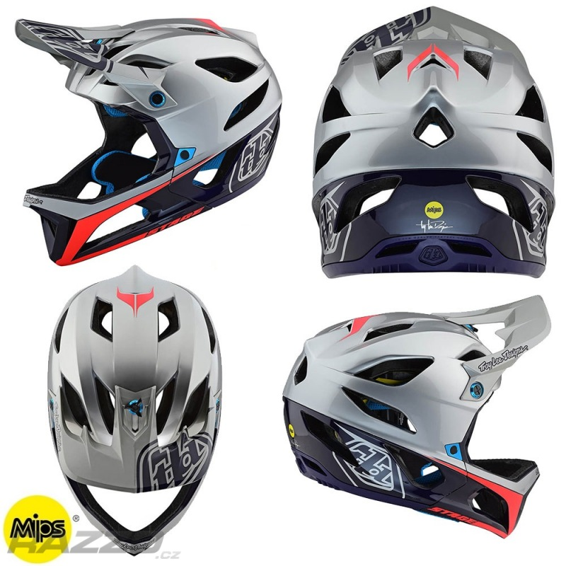 enduro helma troyleedesigns stage race helmet silver navy. Black Bedroom Furniture Sets. Home Design Ideas