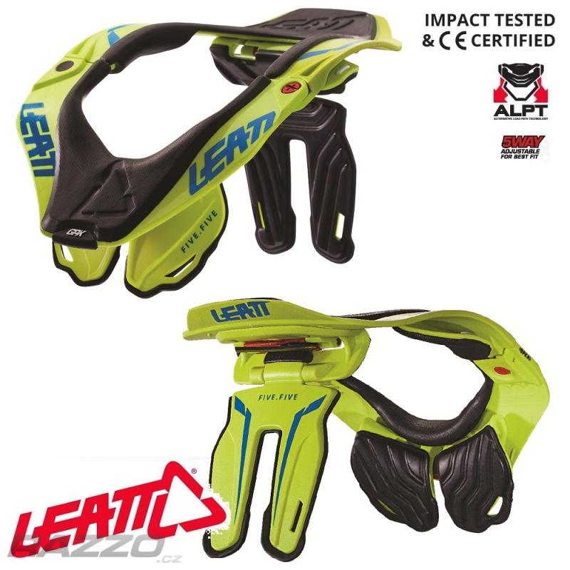 4a783ba15f5 Chránič krční páteře na moto Leatt GPX 5.5 Neck Brace Lime 2019 ...