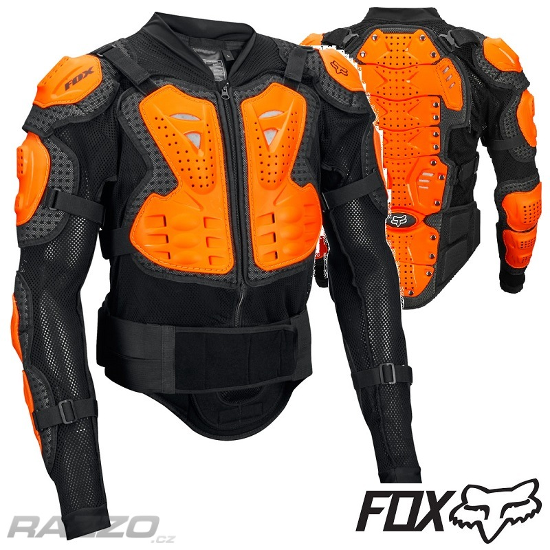 Chránič těla kompletní FOX Racing Titan Sport Jacket Black Orange 2018 35d30eceaa