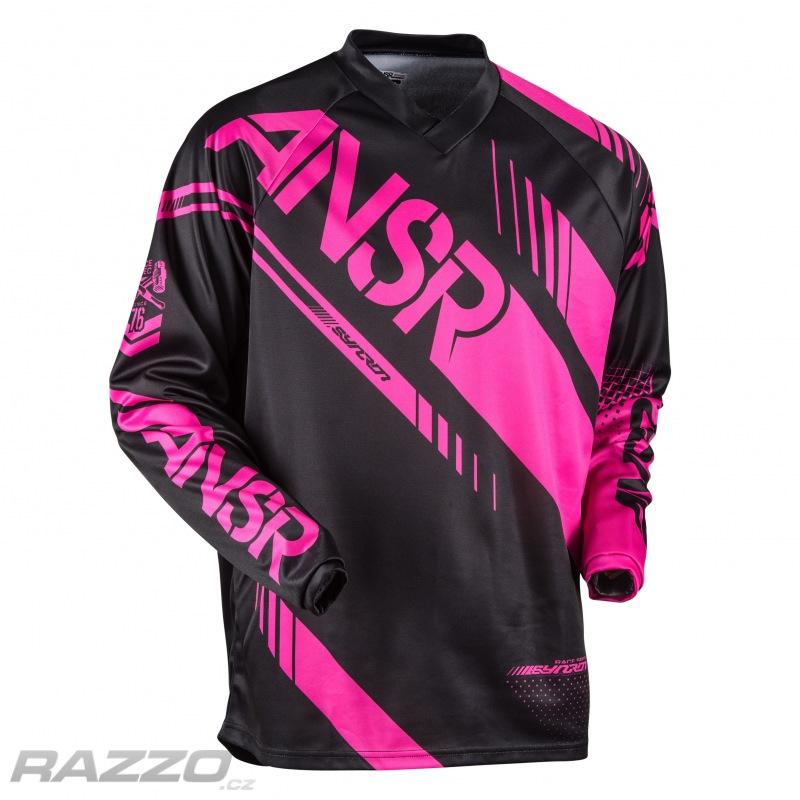 0dc9b3baf13 Dámský dres ANSWER Syncron WMX Jersey Black Pink 2017