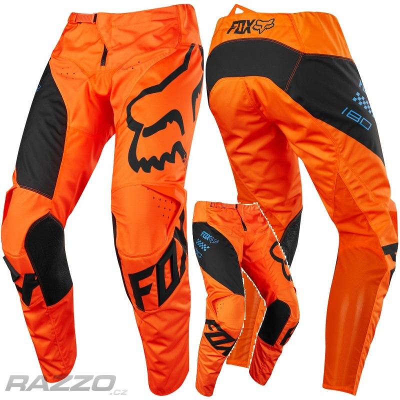 Dětské kalhoty na motokros FOX 180 Pant Youth Mastar Orange 2018 0cd976bba2