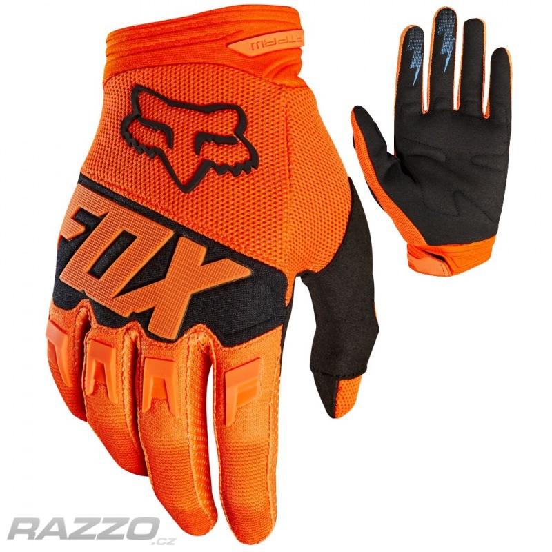 Dětské rukavice FOX Youth Dirtpaw Glove Race Orange 2018 - rukavice ... 78a81d44eb