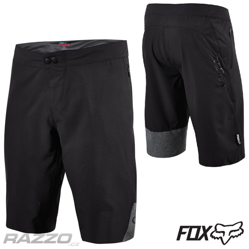 MTB kraťasy FOX Attack Short Black 2016 - kraťasy mtb   dh ... 29bb460bc5