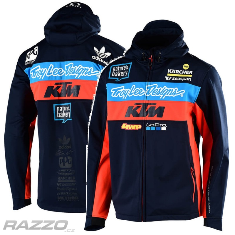 550086f36fe6 Pánská bunda TroyLeeDesigns KTM Team Pit Jacket Navy 2019 - bundy ...