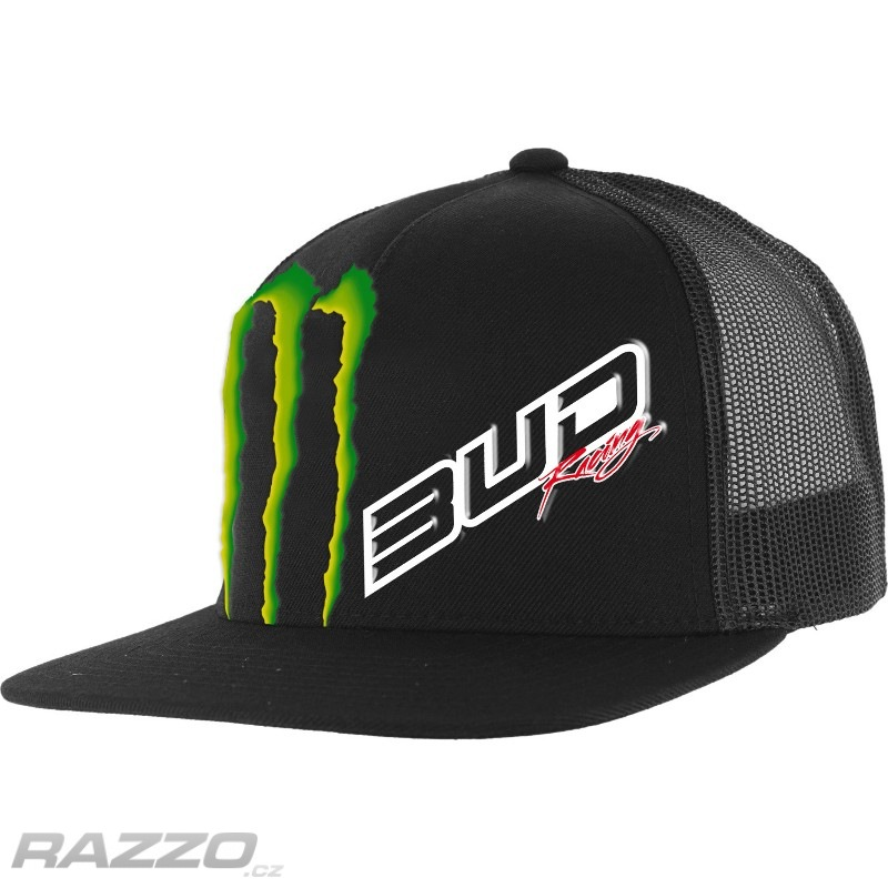 Pánská čepice BudRacing Team SnapBack Hat Black 0d0fbcaf2a