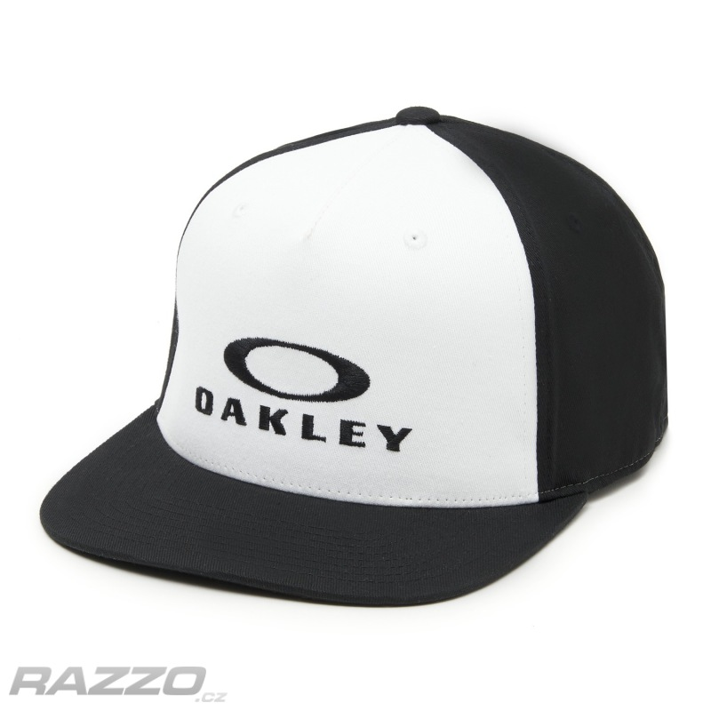 d8831c39748 Pánská čepice Oakley Sliver 110 O-Justable Flexfit Hat White ...