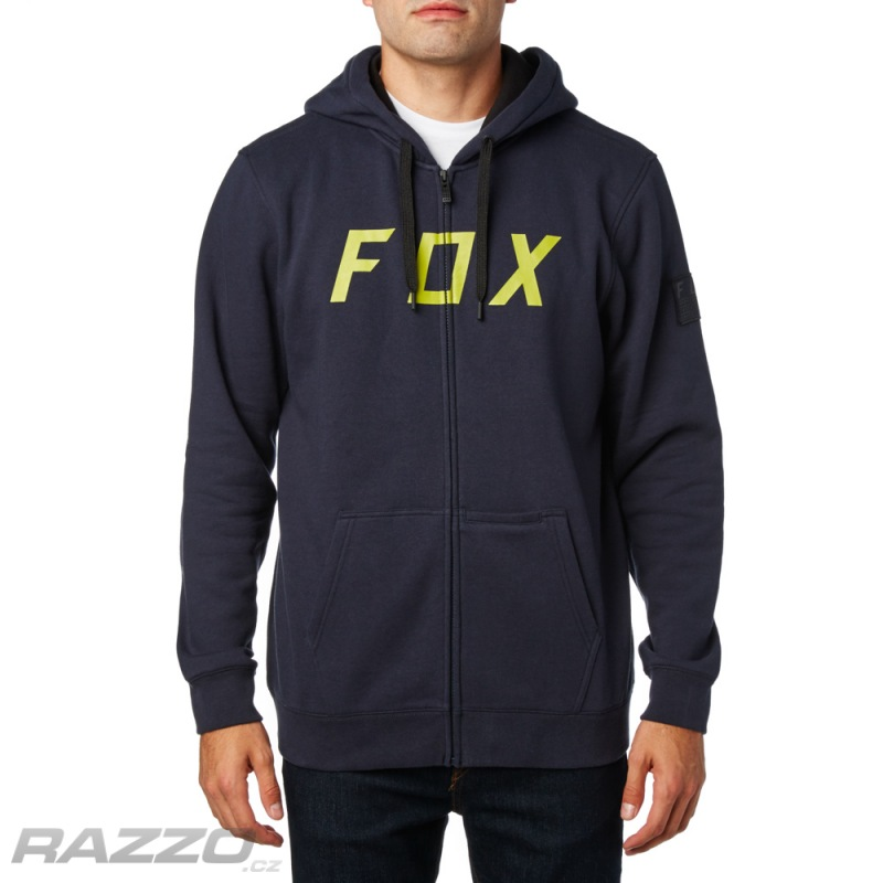2690e61727 Pánská mikina FOX District 2 Zip Fleece Midnight