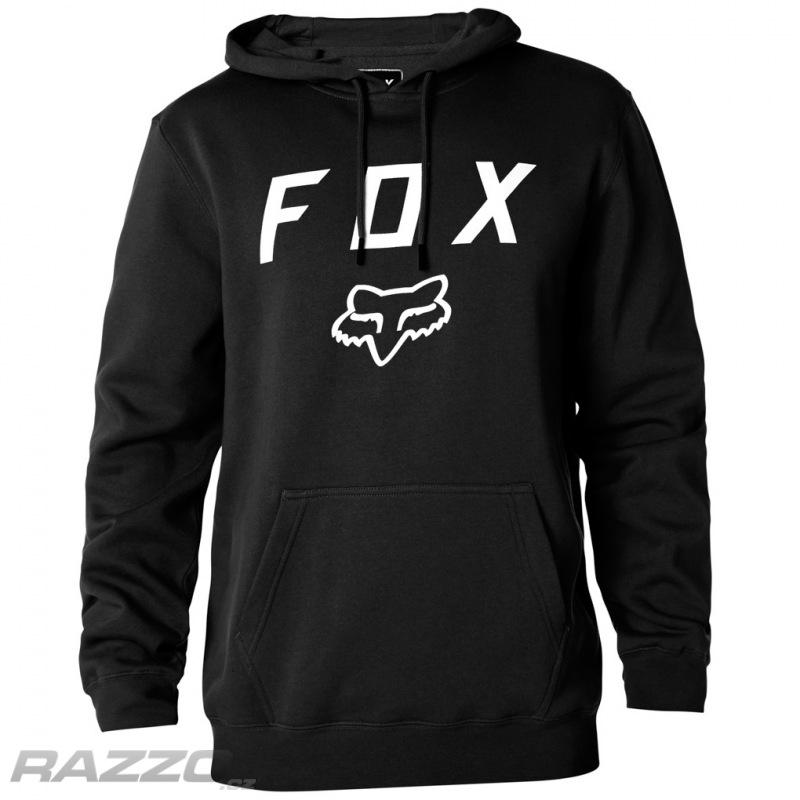 Pánská mikina FOX Legacy Moth Pullover Fleece Black - mikiny a ... edd44c842c