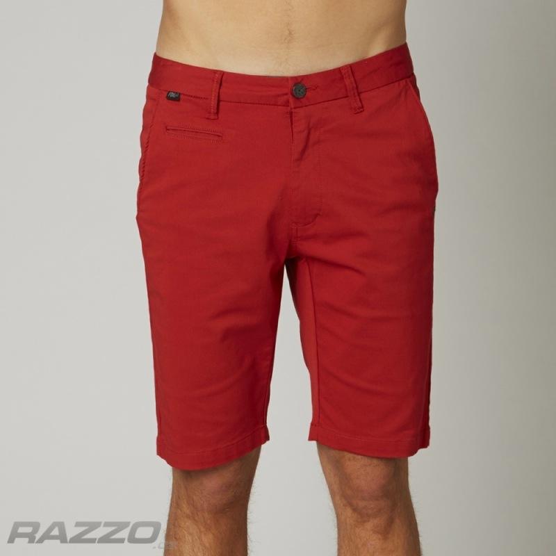Pánské kraťasy FOX Selecter Chino Short Red - kraťasy a plavky  68e21f0825