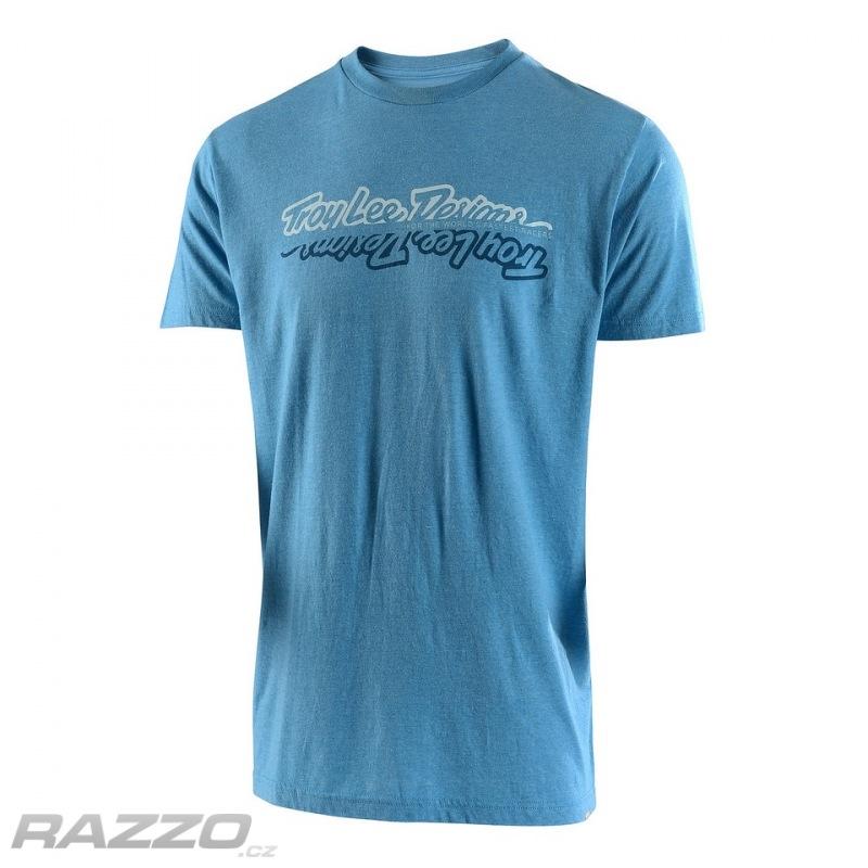 Pánské tričko TroyLeeDesigns All Time Tee Sky Blue - trička a tílka ... 298a7dc977
