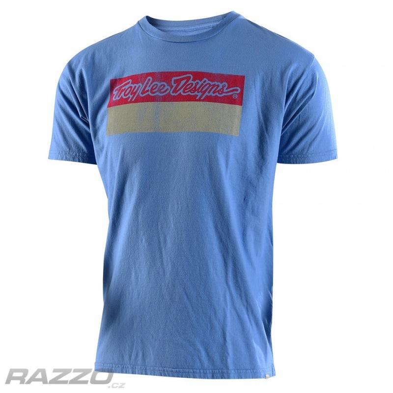 22e80701db97 Pánské tričko TroyLeeDesigns Baseplate Tee Sky - trička a tílka