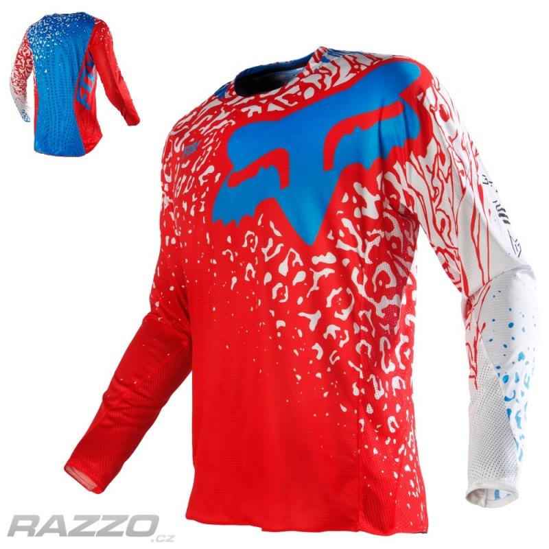 8c202074787 Pánský MX dres FOX 360 Cauz Jersey Red 2016