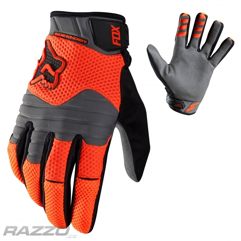 2d669c5f35e Zateplené rukavice FOX Sidewinder Polar Glove Flo Orange