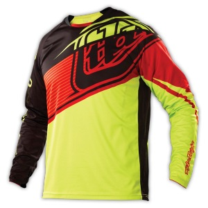Dětský dres na kolo TroyLeeDesigns Sprint Jersey Youth Elite Dawn