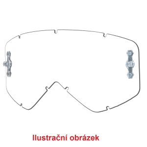 Čiré sklo Smith Piston Clear Lens