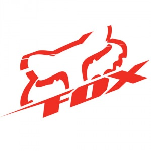 "Nálepka FOX Racing Blitz Die Cut 6,5"" Sticker Red"