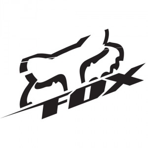 "Nálepka FOX Racing Blitz Die Cut 6,5"" Sticker Black"