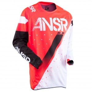 Pánský MX dres ANSWER Elite Jersey Halo Red White 2017