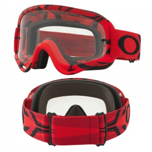 MX brýle Oakley Oframe Intimidator Red Black
