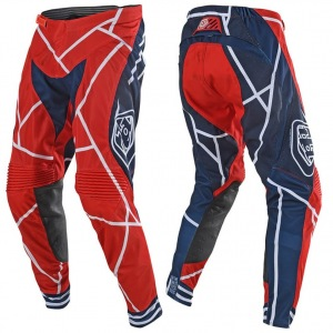 MX kalhoty TroyLeeDesigns SE Air Pant Metric Red Navy 2019