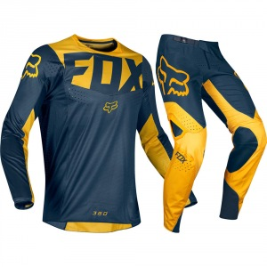 MX komplet FOX 360 KILA Navy Yellow 2019