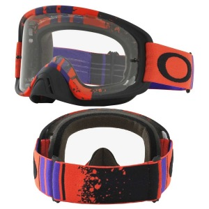 MX brýle Oakley O2 MX Pined Race Red Purple