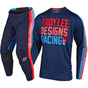 Dětský komplet TroyLeeDesigns GP Air Youth PREMIX 86 Navy 2020