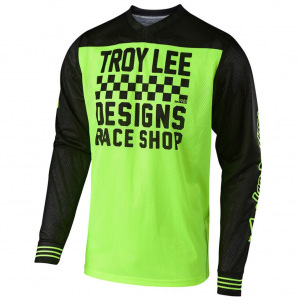 Dres TroyLeeDesigns GP AIR Jersey Raceshop Flo Yellow 2019
