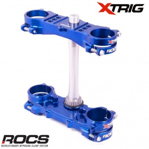 Kompletní brýle XTRIG ROCS TECH Triple Clamps Yamaha YZ250 15-21 offset 25 mm