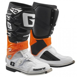 Boty na motokros enduro Gaerne SG12 Boots Orange Black White 2019