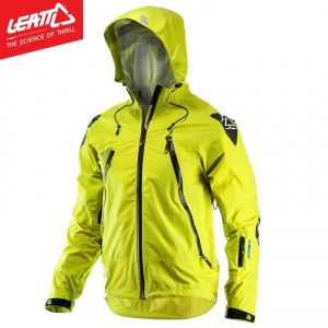 Nepromokavá bunda na kolo Leatt DBX 5.0 All-Mountain Jacket Lime