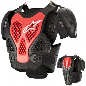 Chránič hrudi Alpinestars Bionic Chest Protector Black Red