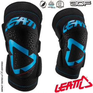Chrániče kolen Leatt Knee Guard 3DF 5.0 Fuel Black 2020