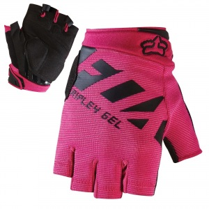 Dámské MTB rukavice FOX Womens Ripley Gel Short Glove Black Pink 2017