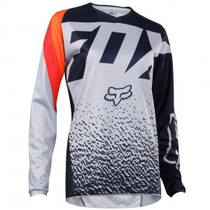 Dámský dres FOX Womens 180 Jersey Grey Orange 2018