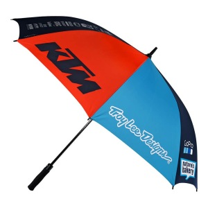 Deštník TroyLeeDesigns Umbrella Team KTM Navy Orange 2018