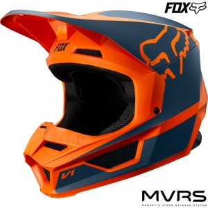Dětská helma na motokros FOX V1 Youth PRZM Helmet Orange 2019