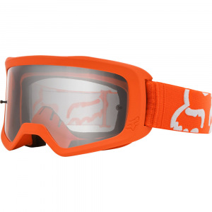 Dětské brýle FOX Youth Main II Race Goggle Flo Orange 2020