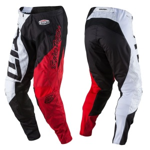 Dětské kalhoty TroyLeeDesigns GP Pant Youth Quest Red White Black 2017