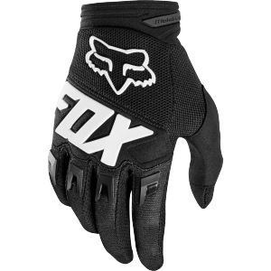 Dětské rukavice FOX Youth Dirtpaw Glove Race Black 2019