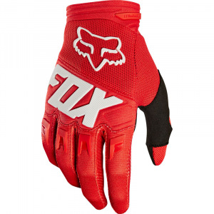 Dětské rukavice FOX Youth Dirtpaw Glove Race Red 2020