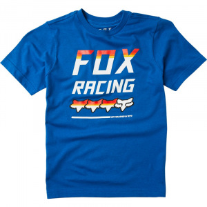 Dětské tričko FOX Youth Full Count SS Tshirt Royal Blue