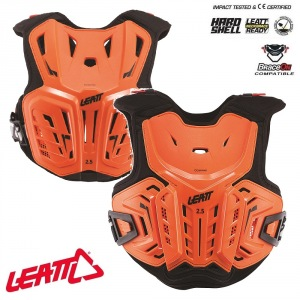 Dětský chránič hrudi Leatt 2.5 Chest Protector Junior Orange Black