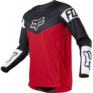 Dětský dres na motokros FOX 180 Jersey Youth REVN Flame Red 2021
