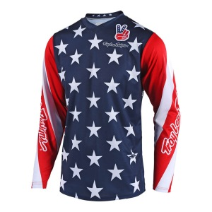 Dětský dres TroyLeeDesigns GP Jersey Youth STAR LE Navy 2018