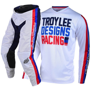 Dětský komplet TroyLeeDesigns GP Air Youth PREMIX 86 White 2020