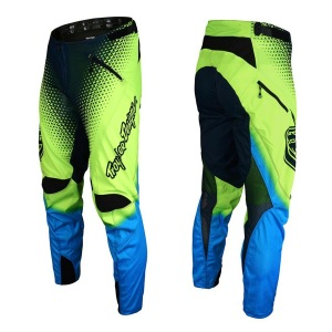 Downhill kalhoty TroyLeeDesigns Sprint Pant Starburst Flo Yellow 2017
